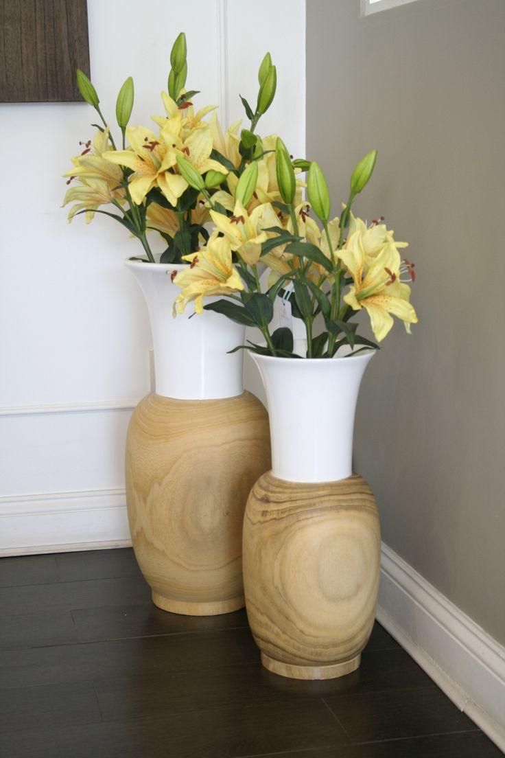 Rincones que inspiran!  Set de Vases Décoratifs, mas detalles en www.bandara.cl