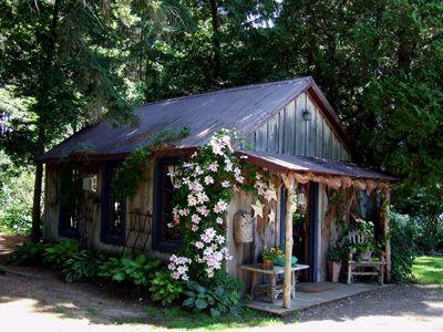 Folk Artist Lucy Ogletree's Original Studio at Winter Wheat- my dream studio