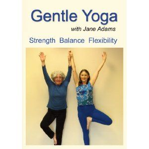 yoga elderly beginners | Beginner Yoga DVDs For Seniors