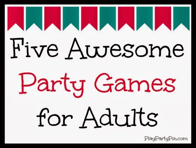 Five Awesome Party Games for Adults: Really like the Take A Hint game- great charades spin-off!