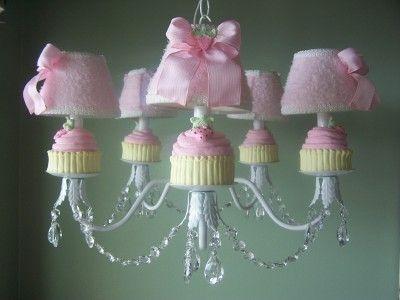 Sweet Cupcake Chandelier