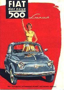 Fiat500 #print #ad #vintage
