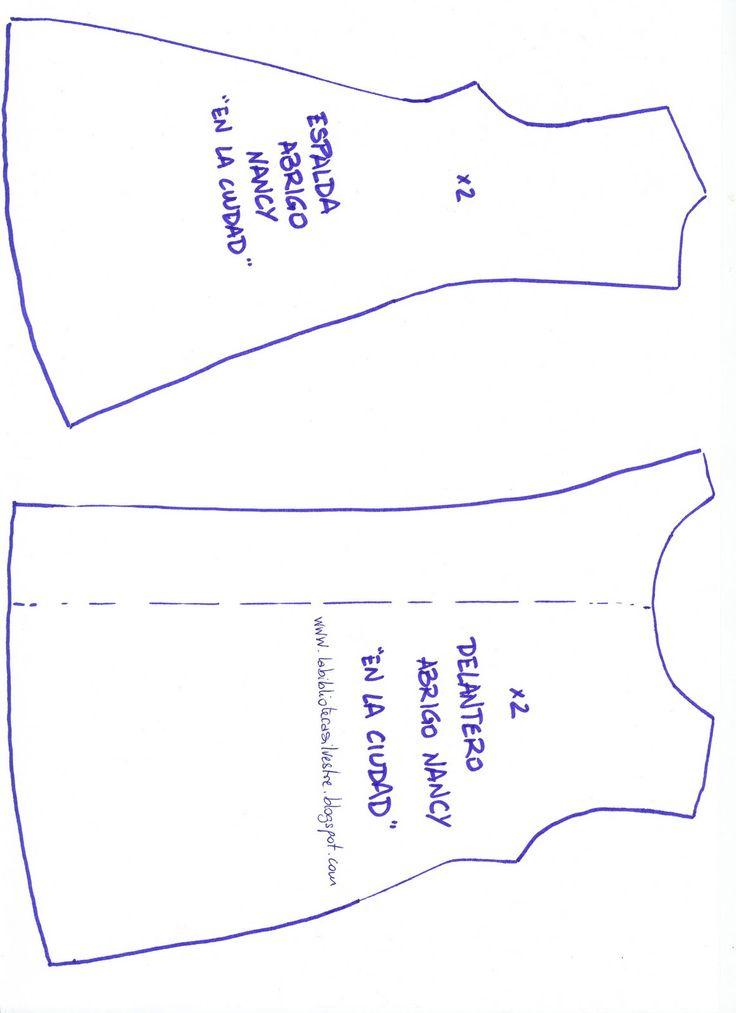 #1 abrigo. Para pasarlo a papel: guardad la foto, pegadla sobre un A4, lo más ...