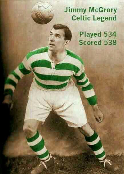 Jimmy McGrory of Celtic in 1930.
