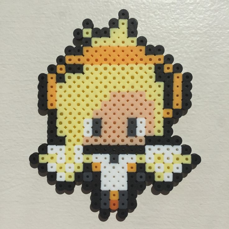 Welcome to the Pixelated Overwatch Spotlight, featuring Mercy. You can see my tutorial here: https://youtu.be/lzAEjoCPdxg