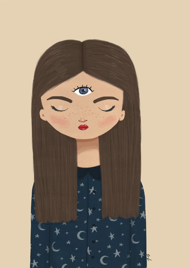Monthly Makers maj: magi. Third Eye - Anna Grape