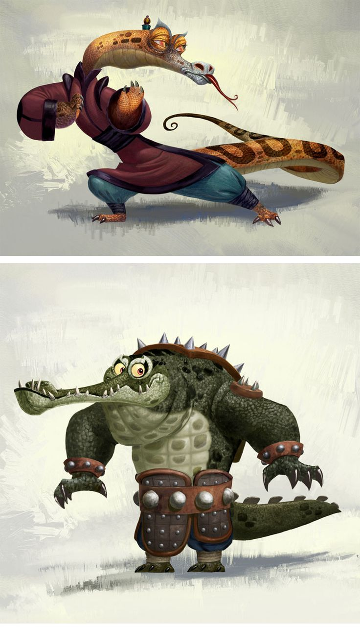 Kung Fu Panda by Bill-Dely_1
