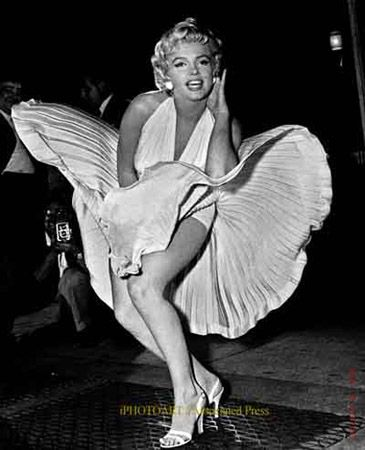"from her movie..."" The Seven Year Itch """