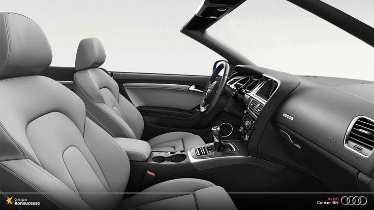 Dirigir um Audi é sinônimo de dirigir um carro confortável, tecnológico e cheio de grandes novidades que surpreendem você e seus passageiros.  Por isso, o Audi A5 Cabriolet é uma grande escolha!  #Audi #AudiLovers #Love #AudiAutomovel #AudiCenterBH #Car #AudicenterBH #Auto