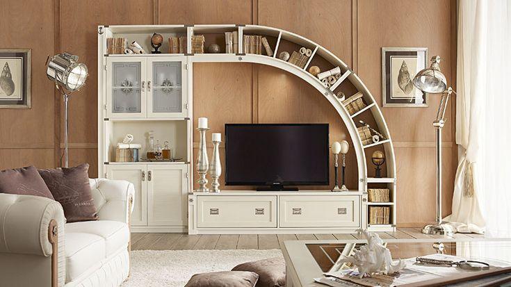 Soggiorno classico bianco 04   Arredare living   Pinterest ...