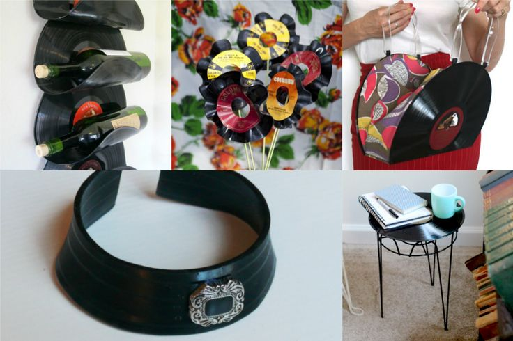 Grab some old vinyl records at the thrift store and check out these fabulous ways to repurpose them! Lots of other ideas too.