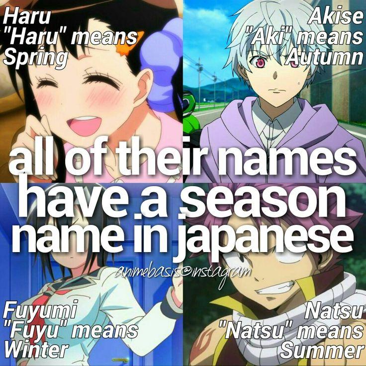 Anime/Manga Facts : Haru Onodera , Nisekoi , Akise Aru , Mirai Nikki , Future Diary , Fuyumi Yanagi , Blood Lad , Natsu Dragneel , Fairy Tail