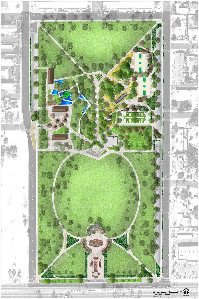 999 best park and pocket park images on pinterest for Mesa landscape architects