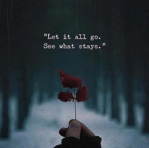 BEST LIFE QUOTES    Let it all go, see what stays. —via https://ift.tt/2eY7hg4