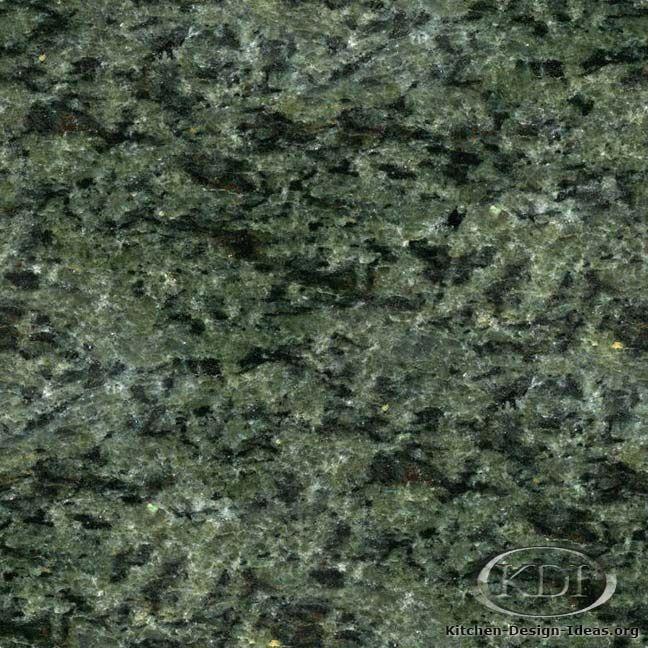 Mountain Green Granite (Kitchen-Design-Ideas.org)
