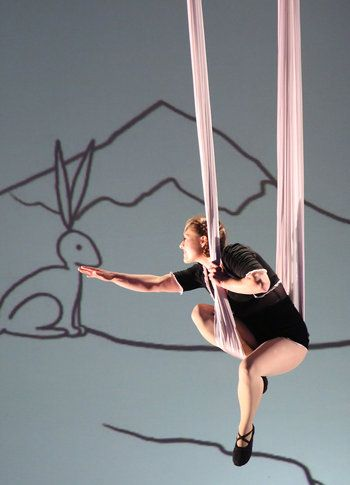 "Aerial Animation on season 9 of America's Got Talent. ~ ""There's talent, and then there's her""  ~._*G*_.~"