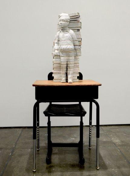 Li Hongbo: Textbooks (South Gallery) - Exhibitions - Klein Sun Gallery