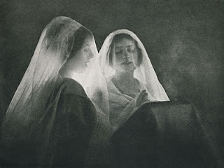 """Agustí Centelles, """"Chant Sacrè,"""" 1900 #Fotografía Agustí Centelles i Ossó"""