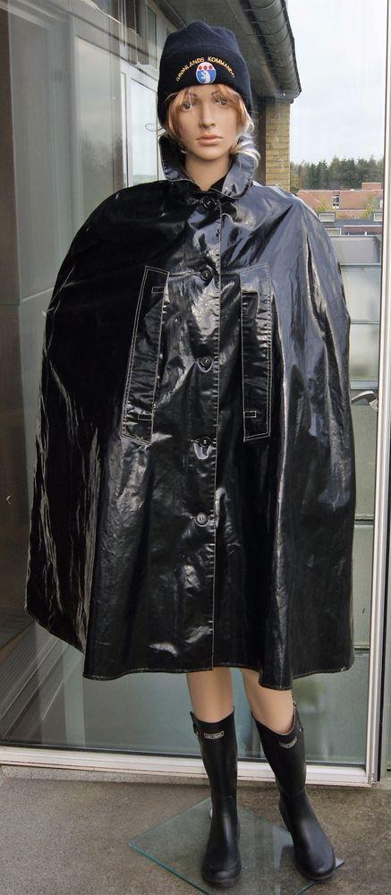 die besten 25 pvc regenmantel ideen auf pinterest schwarzer regenmantel plastischer. Black Bedroom Furniture Sets. Home Design Ideas