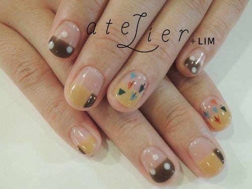 atelier+LIM....△▲ #ネイル #nails