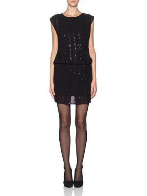 SHELLY S/L SHORT DRESS - ROE