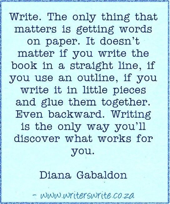 Quotable - Diana Gabaldon