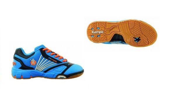 Zapatillas #Kempa Hurricane Junior http://btlr.me/1jhEkKe Calzado a buen precio para tu pequeño. PVP: 49,90€ #zapatillas #balonmano
