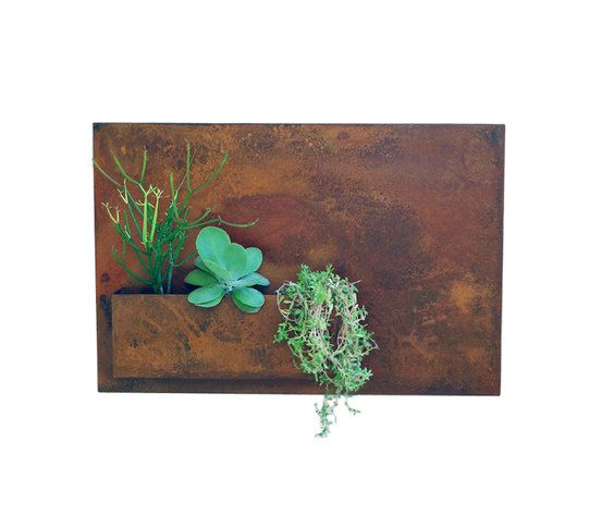 "20"" x 30"" Vertical Garden & Metal Succulent Wall Planter - Horizontal (Free Shipping)"