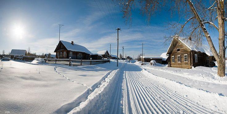 зимняя деревня - Поиск в Google