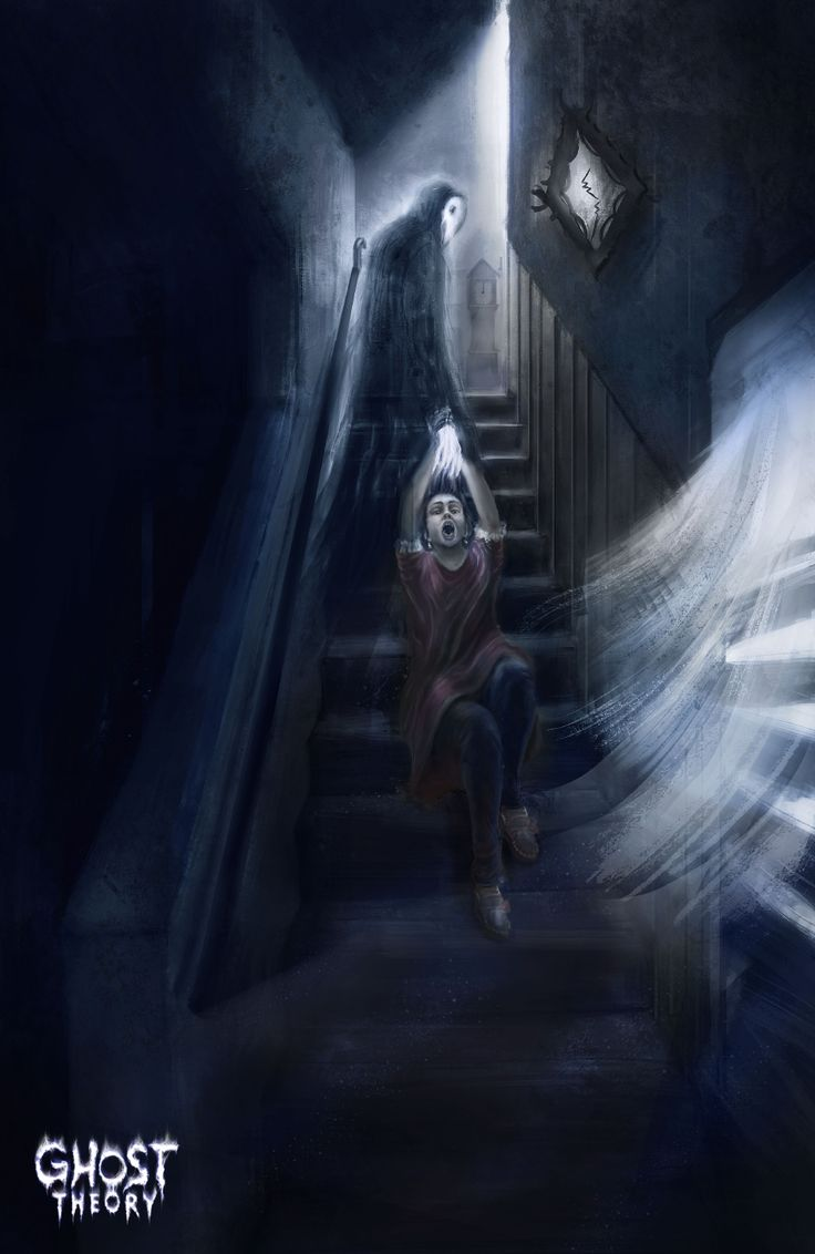 Here our artwork captures the infamous Black Monk of Pontefract. See more at www.ghost-theory.com