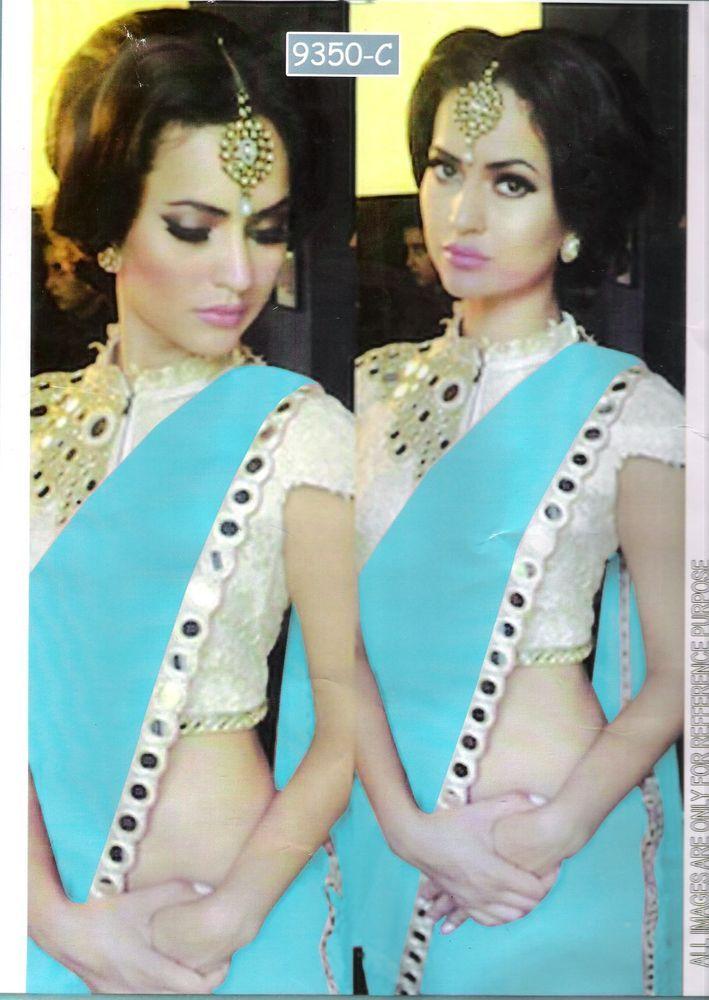 INDIAN DESIGNER FANCY RESHAM with MIRROR WORK BORDER SAREE #RajgharanaExports #Saree