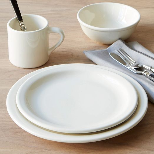 The new basic. Build your place settings with these versatile Stoneware plates, bowls and mugs. They're great layered with solid colors or patterns for special occasions or everyday dinners.