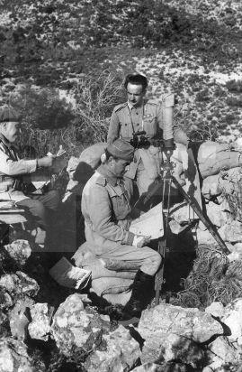 Spain - 1938. - GC - MORA DE EBRO (TARRAGONA), 05/11/1938.- El jefe del Cuerpo…
