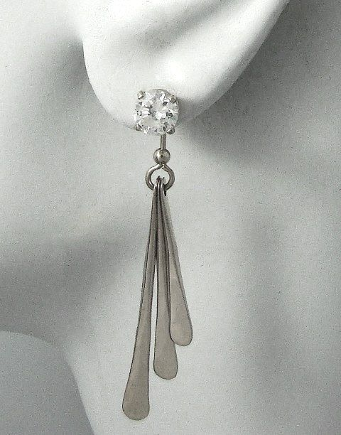 85 best Sterling Silver Earring Jackets images on ...