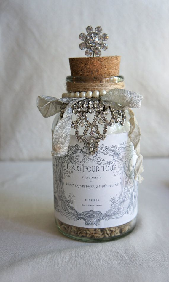 17 best ideas about decorating bottles on pinterest - How to decorate old bottles ...