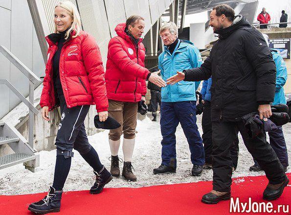 Члены королевской семьи Норвегии 12 марта 2017 года: Группа В некотором царстве-государстве...