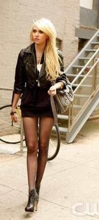 God me and leather jackets and short skirts - I think I was an 80s hooker that overdosed in my previous life.