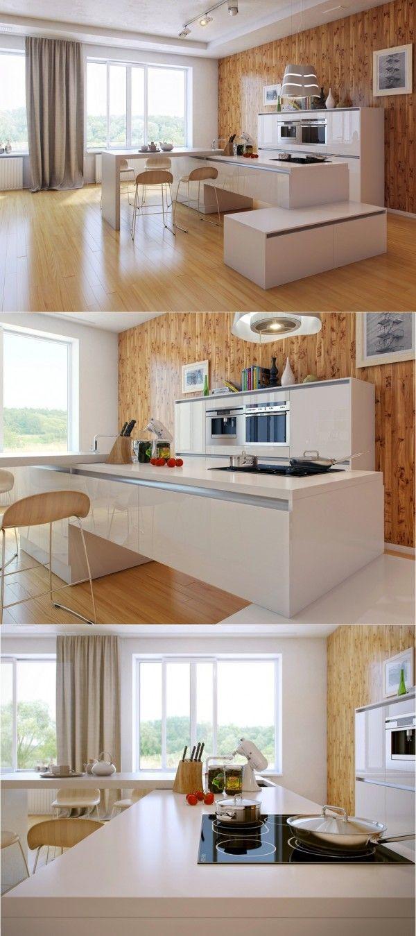 1000 idées sur le thème plans de travail de cuisine en quartz sur ...