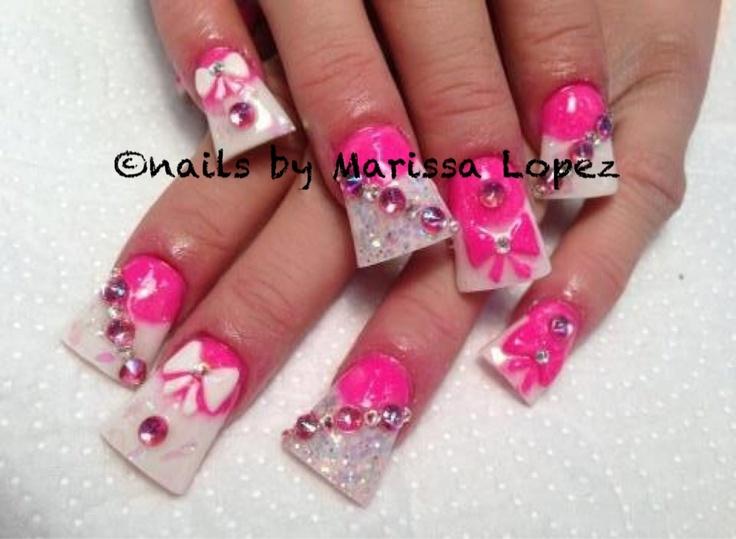 Acrylic nails by marissa