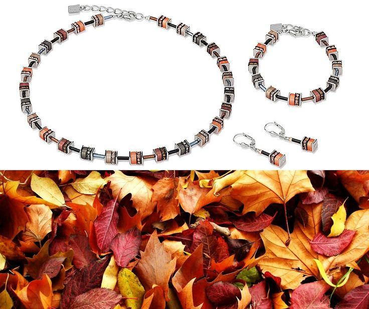 Capture the colours of Autumn with this Coeur de Lion set.