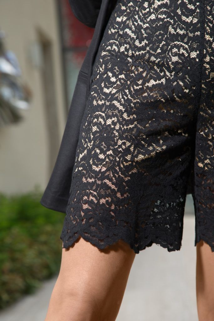 #Fashion #LureStudio #IleanaBadiu #Super40 #Shorts #lace