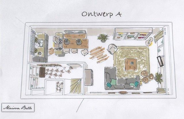 25 beste idee n over thuis plattegronden op pinterest huisplattegronden vakman thuis plannen - Interieurontwerp thuis kleur ...