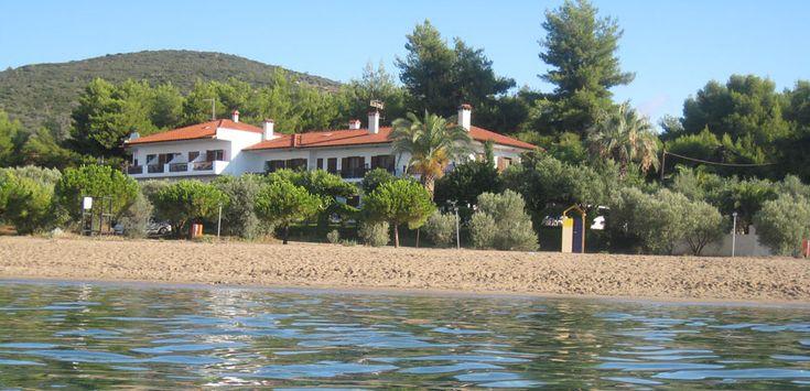 Pension Nikos , rooms, studios and apartments in Psakoudia Sithonia #Halkidiki Greece