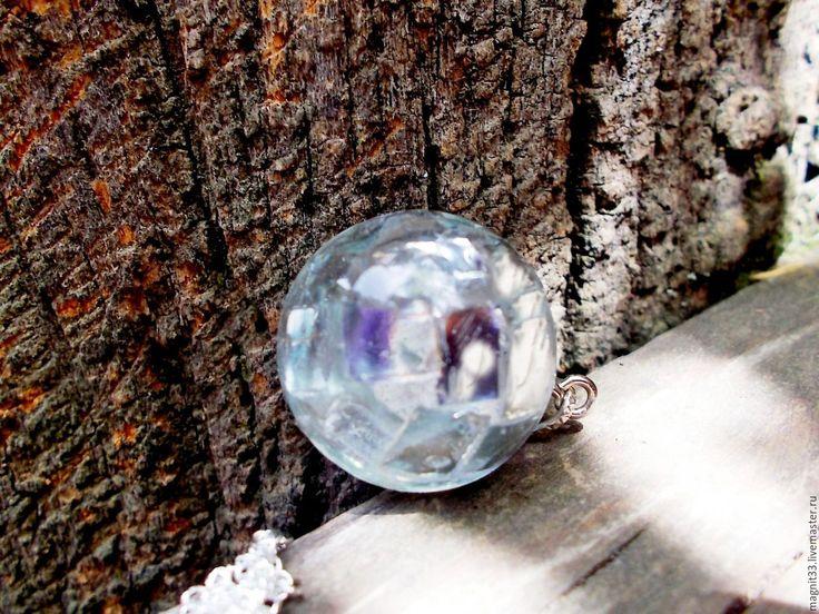 Купить Кулон Миллионы искр  в одном зеркальном  шаре(цепь серебро925) - белый, кулон зеркальный шар.купить-dgyga@mail.ru телефон 89181726241