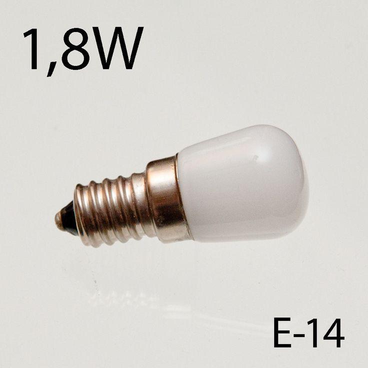 Ersatzlampe für Nähmaschine oder Kühlschrank LED 1,8 Watt (Matt)