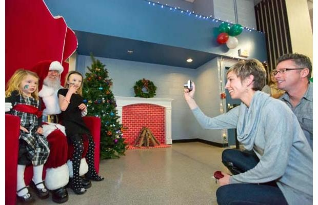 An annual Breakfast with Santa event was held last Saturday at the South Delta Recreation Centre in Tsawwassen.