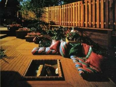 Warm Gathering Places   A Firepit Is A Wonderful Deck Element To Gather  Around When The Evenings Get Long. Learn How To Carefully Plan A Safe And  Elegant ...