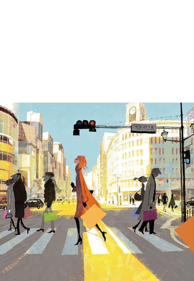外国人向けフリーペーパー「東京・大阪名品淘」表紙。百貨店などの置かれている模様。http://www.bullseyecom.co.jp/media/index.html…