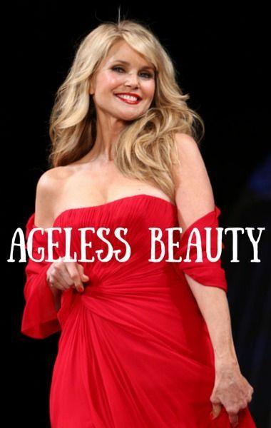 Christie Brinkley shares her tricks for staying young at the age of 61  #antiaging http://www.healyourfacewithfood.com/
