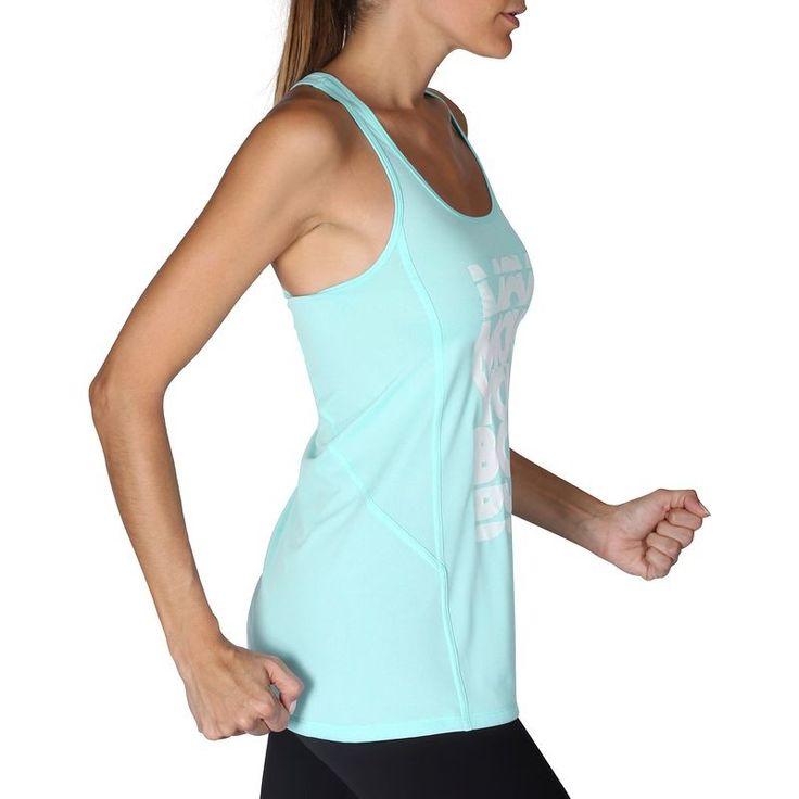 FITNESS Fitness Fitness, Musculation - Débardeur long ENERGY fitness DOMYOS - Vêtements Fitness
